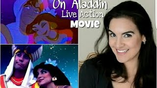 On Aladdin Live Action Film: Jasmine's Outfit & Thoughts...