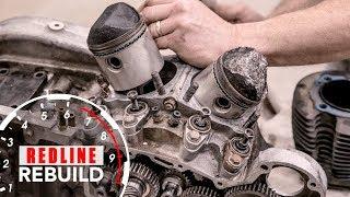 Harley-Davidson Sportster V-Twin Ironhead Engine Rebuild Time-Lapse | Redline Rebuild - S1E6