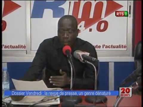 Dossier sur la revue de presse dans les media du Senegal (RTS)