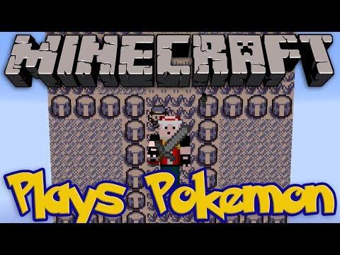 Minecraft Plays Pokémon TWITCH PLAYS POKEMON IN MINECRAFT Mod Mini Game