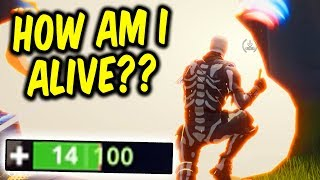 HOW AM I ALIVE? - My Greatest Clutch Yet! - Fortnite Battle Royale