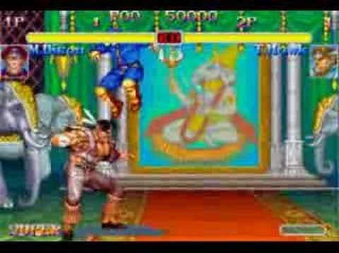 Super Street Fighter 2 Turbo combo video.