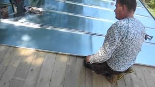 play dach reinigen mit hochdruckreiniger entmoosen. Black Bedroom Furniture Sets. Home Design Ideas
