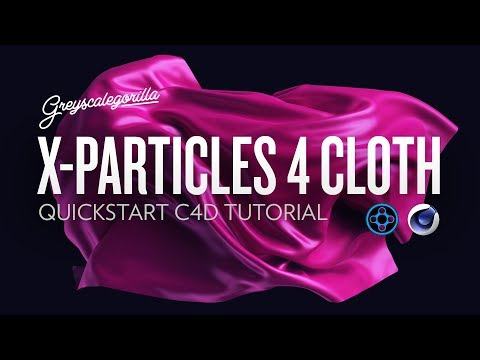 X-Particles 4 Cloth Tutorial - Quick Start Guide