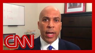 Sen. Cory Booker: Trump doesn't deserve a response, our people do