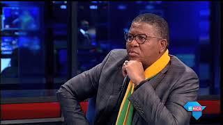 Justice speaks to Fikile Mbalula