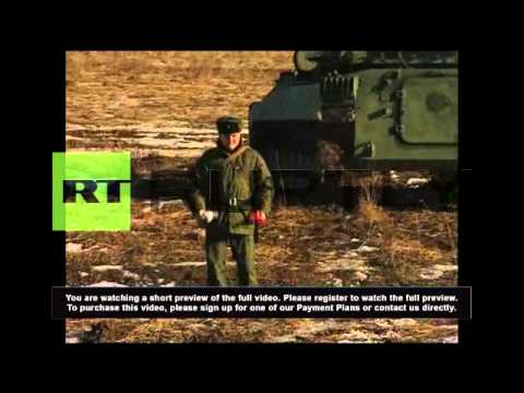 Russia: Military deploys for combat readiness drills