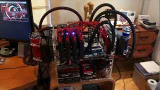 4 way sli gtx 680 classified water cooled gaming rig 2nd gen