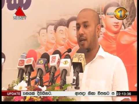 News 1st Prime time 10PM  Sirasa TV 21st May 2016