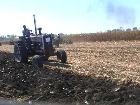 MOLBOARD PLOWING AT THE 2011 HALF CENTURY OF PROGRESS RANTOUL, IL PART 2