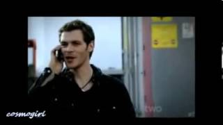 Klaus and Elena ( Alicia Keys -- Love İs Blind )