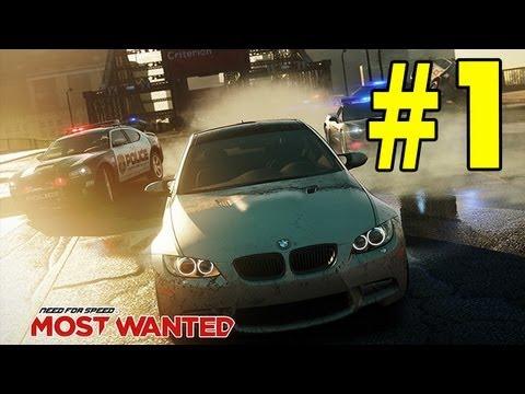 Need for Speed Most Wanted 2012 - Прохождение - Часть 1