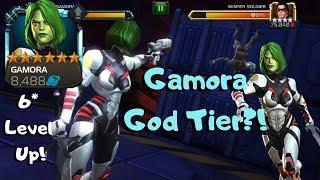 NEW GAMORA GOD TIER?! Insane Damage! Buffed! - Marvel Contest of Champions