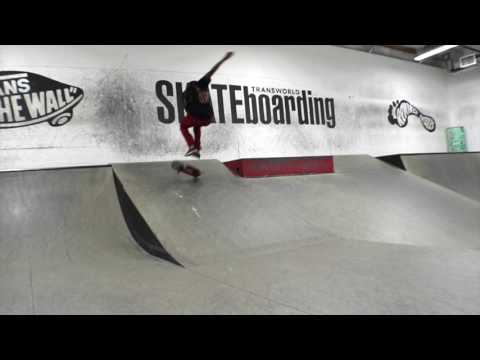 Avenue Trucks || Team visits TransWorld SKATEboarding