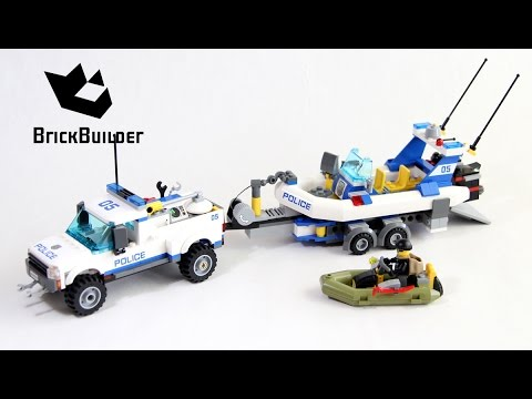 Lego City 60045 Police Patrol - Lego Speed Build