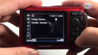 Olympus TG-310 - Dmonstration, test prise en main