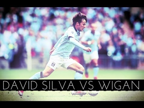 David Silva vs Wigan (N) FA Cup 2013 Final HD
