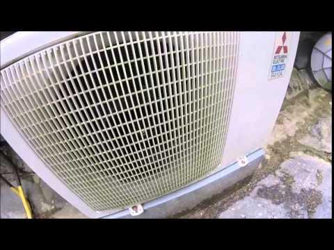 mitsubishi mr slim ductless air conditioner. Black Bedroom Furniture Sets. Home Design Ideas