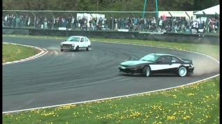 Castle Combe Performance Car Action Day 25th April 2015 Crash , Spins , Mistakes