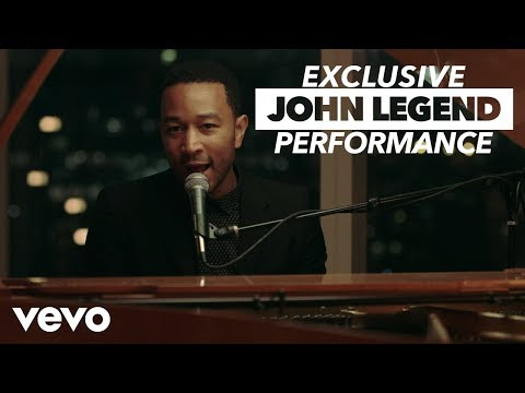 John Legend - VEVO GO Shows: All Of Me klip izle