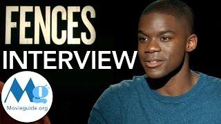 FENCES Interview Feat: Jovan Adepo & Stephen M Henderson