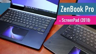 Asus ZenBook Pro (2018) with ScreenPad hands-on review