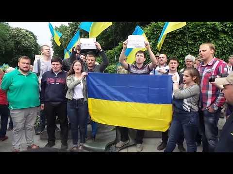 Марш 9 мая. Стелла. Слава Украине!