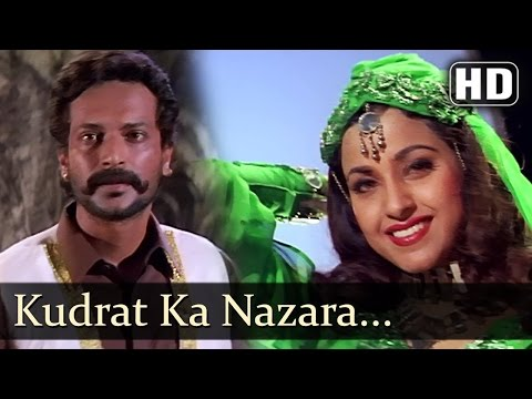 Kudrat Ka Nazara - Ayub Khan - Saadhika - Salma Pe Dil Aaga Ya - Hindi Song video