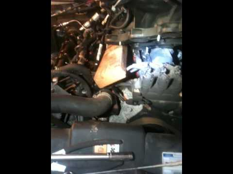 Ford explorer 4.0 rear tensioner replace right side rear cassette. Part 1