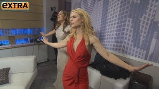 Maria Menounos Dances with the Golden Globe Winners
