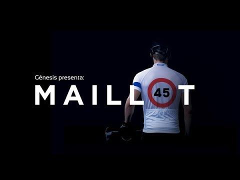 'Maillot 45', una señal de tráfico móvil para proteger a los ciclistas