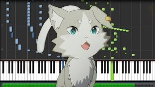 【FULL】 Re:Zero kara Hajimeru Isekai Seikatsu [ゼロから始める異世界生活] Opening - Redo (Piano Synthesia)