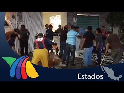 Explosión por acumulación de gas en Coacalco   Noticias del Estado de México