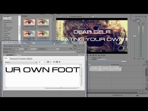 Как создать лирик видео