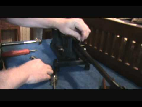 Remington 742 Woodmaster project Disassembly.wmv