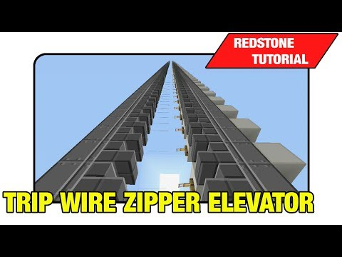 Trip Wire Zipper Elevator Tutorial Minecraft Xbox Ps3 TU16