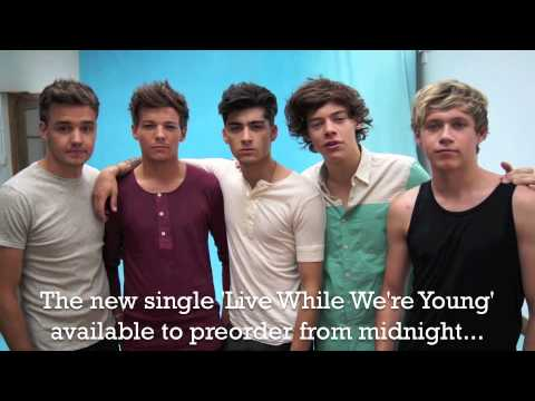 #1DBigAnnouncement- the new single 'Live While We're Young'