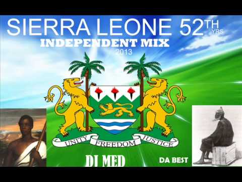 SIERRA LEONE MUSIC 2013'''52th INDEPENDENT MEGAMIX 2013 by dj med