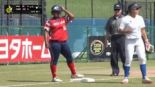 Philippines v Great Britain - Placement Round Games - WBSC Women's Softball World Championship 2018  from WBSC