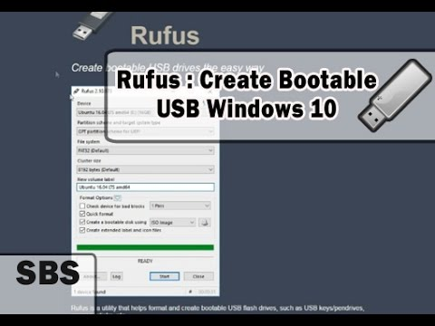rufus windows 10 bootable not working
