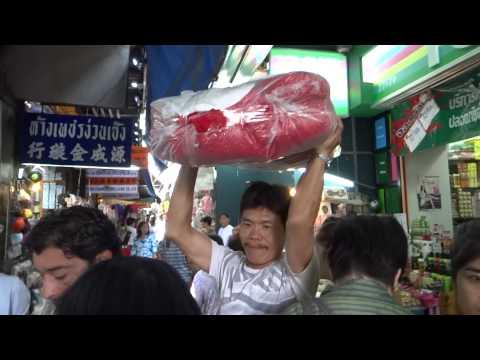 Thailand Bangkok market place 2014