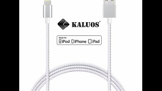 Кабель KALUOS для Iphone, Ipad