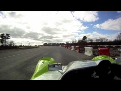 2 tours sur le circuit de Mrignac  bord d'un proto Merlin/Honda