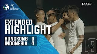 AFC U-19 Championship 2020 Qualifiers: Hong Kong 0-4 Indonesia
