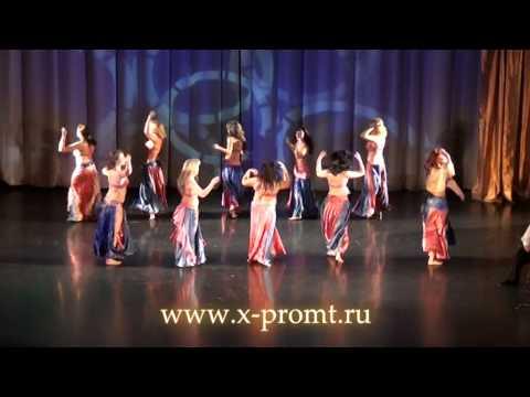 """Танец живота """"Восточные куклы"""".  Группа. Belly dance. Group."""
