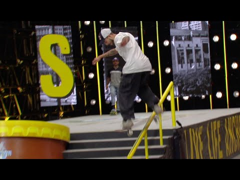 Pacifico Downtown Open Recap Round 1: Manny Santiago Vs. TJ Rogers | Game Of SKATE