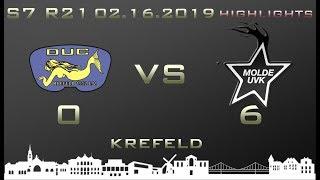 Euroleague 7th season DUC Krefeld - Molde UVK 0-6 (0-4)