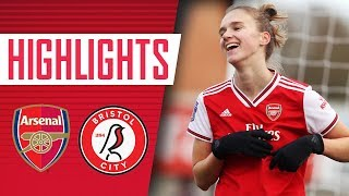 Miedema scores 6 and assists 4! | Arsenal Women 11-1 Bristol City | Highlights