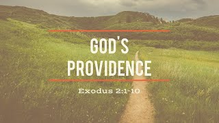 The Birth of Moses and the Providence of God - Exodus 2:1-10