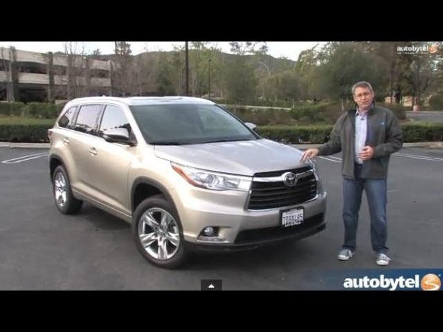 2014 Toyota Highlander Limited Test Drive Video Review